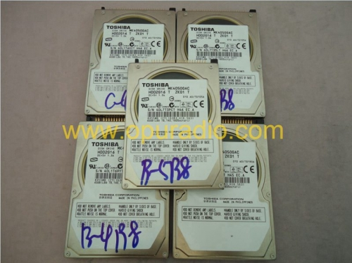 Toshiba MK4050GAC Disk Drive HDD2G16 40GB For Mercedes-benz Ford GM GMC Chevy Cadillac Lincoln Audi VW Toyota Porsche PCM3.1