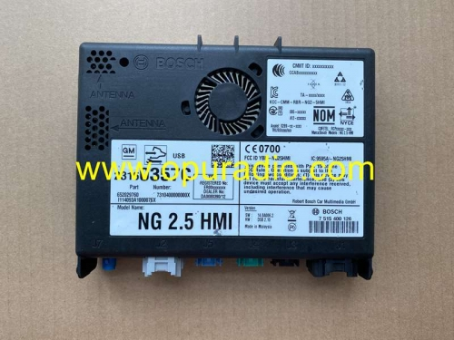 Bosch 652029760 NG 2.5 HMI For Opel Astra GM Buick Car navigation Chinese Map