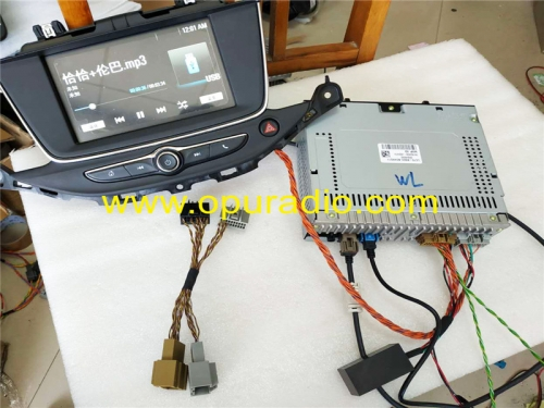 Wiring Tester for 2015-2017 Opel Vauxhall Astra K Display Touch Screen LC7S Power Up On Bench