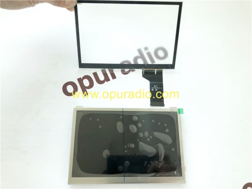 TDO-WVGA0633 only Touch Panel Digitizer for VW Discover MIB STD2 PQ NAV 5C0035680B Transporter Amarok Caddy Golf T6 Wifi BT
