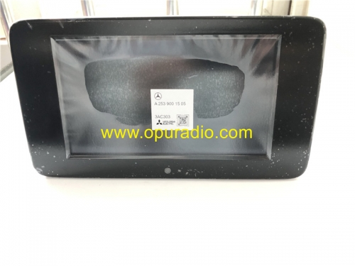 A2539001505 Zentral Display Mitsubishi Monitor Information for 2020 Mercedes W253 GLC Class Car Audio Media